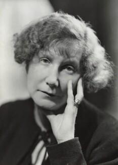 Marjorie Bowen (Mrs Gabrielle Margaret Vere Long), by Howard Coster - NPG x3063