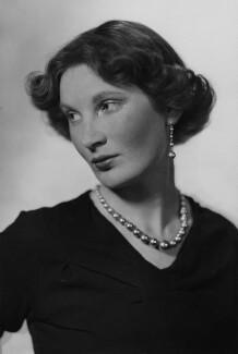Margaret Ann d'Abreu (née Bowes-Lyon), by Howard Coster - NPG x3067