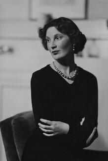 Margaret Ann d'Abreu (née Bowes-Lyon), by Howard Coster - NPG x3072