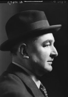 Ivor Brown, by Howard Coster, 1940 - NPG x3226 - © National Portrait Gallery, London