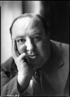 Alfred Hitchcock, by Howard Coster, 1936 - NPG x3564 - © National Portrait Gallery, London