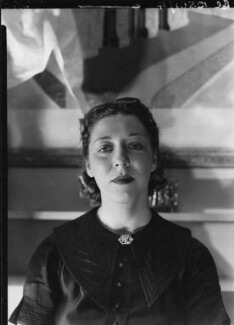 Amy Johnson, by Howard Coster, 1937 - NPG x3572 - © National Portrait Gallery, London