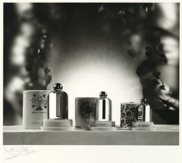 Yardley and Co still life, by Anthony Buckley - NPG x75892