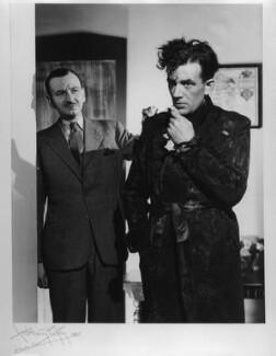 Hugh Sinclair; Raymond Hartley, by Anthony Buckley - NPG x75910