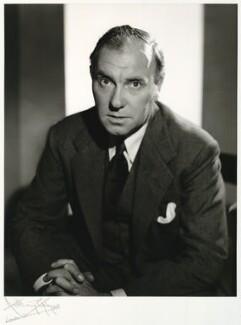 Sir Ralph Richardson, by Anthony Buckley - NPG x76048