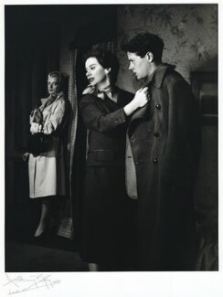 Maggie Smith; Kate Reid; Tim Seely, by Anthony Buckley - NPG x76216