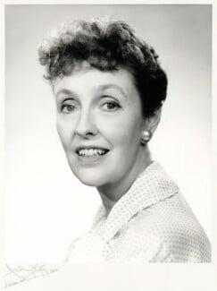Joyce Grenfell, by Anthony Buckley - NPG x76240