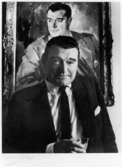 Jack Hawkins, by Anthony Buckley, 1968 - NPG x76254 - © estate of Kenneth Hughes / National Portrait Gallery, London