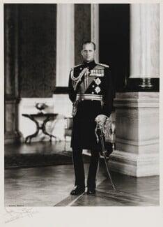 Prince Philip, Duke of Edinburgh, by Anthony Buckley, 1965 - NPG  - © estate of Kenneth Hughes / National Portrait Gallery, London