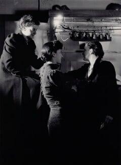 Motley (Audrey Sophia Harris (Mrs George Devine); Percy Harris; Elizabeth Montgomery), by Howard Coster - NPG x81731