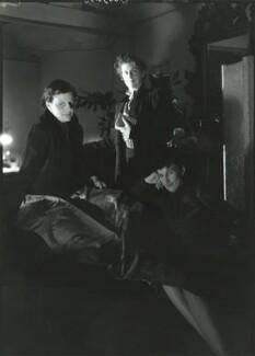 Motley (Audrey Sophia Harris (Mrs George Devine); Percy Harris; Elizabeth Montgomery), by Howard Coster - NPG x81733
