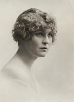 Margaret Bannerman, by Bassano Ltd - NPG x83006
