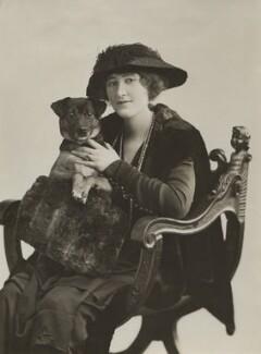 Lydia Bilbrooke (née Phillis Macbeth), by Bassano Ltd, 1917 - NPG x83016 - © National Portrait Gallery, London
