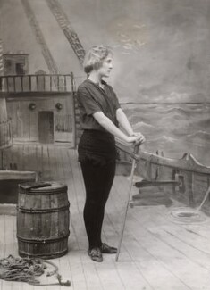 Pauline Chase as Peter Pan in 'Peter Pan', by Bassano Ltd - NPG x83025