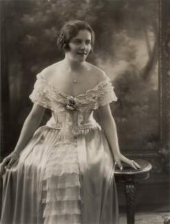 Winnie Melville, by Bassano Ltd - NPG x83301