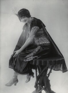 Gertie Millar as Lady Babby in 'Gipsy Love', by Bassano Ltd - NPG x83337