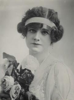 Gertie Millar as Lady Babby in 'Gipsy Love', by Bassano Ltd, 8 July 1912 - NPG x83338 - © National Portrait Gallery, London