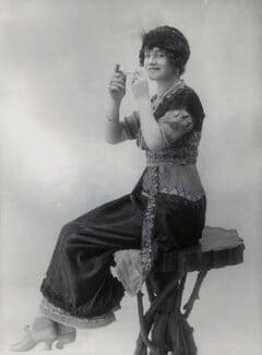Gertie Millar as Lady Babby in 'Gipsy Love', by Bassano Ltd - NPG x83341