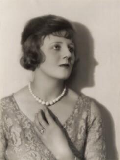 Joan Morgan, by Bassano Ltd, 1924 - NPG x83408 - © National Portrait Gallery, London