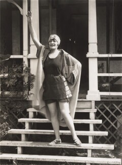 Madge Saunders, by Bassano Ltd, 1925 - NPG  - © National Portrait Gallery, London