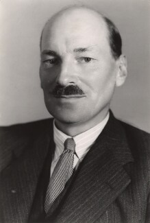 Clement Attlee, by Bassano Ltd - NPG x83556