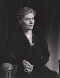 Violet Helen (née Millar), Countess Attlee, by Bassano Ltd, 1946 - NPG x83558 - © National Portrait Gallery, London