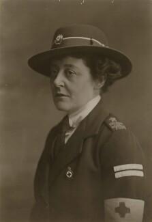 Louisa Mary Calverley (née Henniker), by Bassano Ltd - NPG x83570