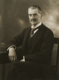 Neville Chamberlain, by Bassano Ltd, 21 February 1929 - NPG x83573 - © National Portrait Gallery, London