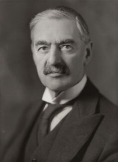 Neville Chamberlain, by Bassano Ltd - NPG x83574