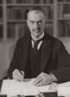 Neville Chamberlain, by Bassano Ltd - NPG x83577