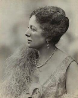Anne Vere Chamberlain (née Cole), by Bassano Ltd - NPG x83578