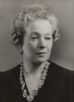 Anne Vere Chamberlain (née Cole), by Bassano Ltd - NPG x83579