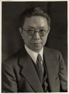 Quo Tai-Chi, by Bassano Ltd, 1932 - NPG x83582 - © National Portrait Gallery, London