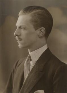 Victor Alex Spencer, 2nd Viscount Churchill, by Bassano Ltd - NPG x83584