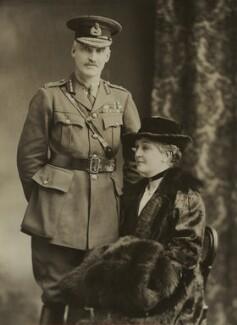 Henry Sinclair Horne, Baron Horne; Kate (née McCorquodale), Lady Horne, by Bassano Ltd - NPG x83633