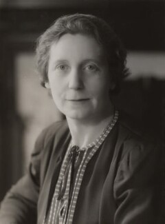 Florence Gertrude Horsbrugh, Baroness Horsbrugh, by Bassano Ltd - NPG x83636