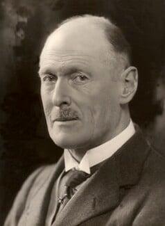 John Edward Deane Browne, 5th Baron Kilmaine, by Bassano Ltd - NPG x83682