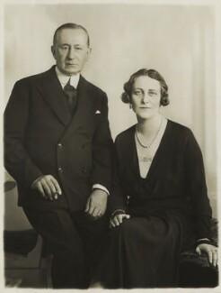 Guglielmo Marconi; Marchesa Maria Cristina Marconi (née Bezzi-Scali), by Bassano Ltd - NPG x83752