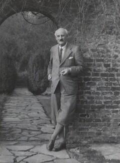 Sir Geoffroy William Millais, 4th Bt, by Bassano Ltd - NPG x83774