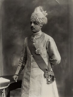 Sir Sri Kanthirava Narasimharaja Wadiyar Bahadur, Yuvaraja of Mysore, by Bassano Ltd, 24 June 1920 - NPG x83812 - © National Portrait Gallery, London
