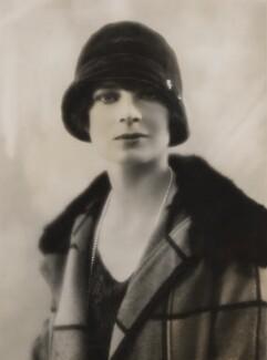 Mrs Alistair MacLeod, by Bassano Ltd - NPG x83824