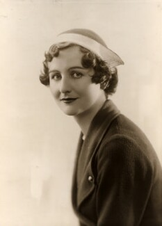 Nancy Mitford, by Bassano Ltd - NPG x83850