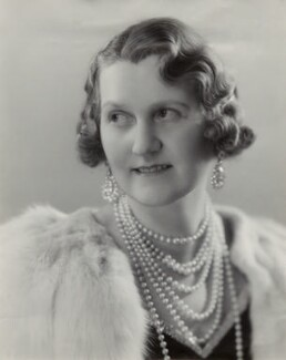 Helen Magdalen, Duchess of Northumberland, by Bassano Ltd - NPG x83870