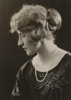 Hon. Mary Betty Cunliffe, by Bassano Ltd - NPG x84009