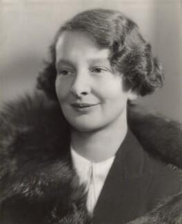 Lady Hester Margaret Bourne (née Cairns), by Bassano Ltd - NPG x84021