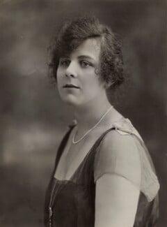 Phyllis Vaughan-Morgan, by Bassano Ltd - NPG x84028