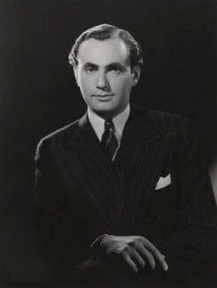 (Israel) Maurice Edelman, by Bassano Ltd, 1947 - NPG x84127 - © National Portrait Gallery, London