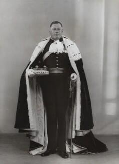 Henry Astell Law, 7th Baron Ellenborough, by Bassano Ltd - NPG x84134