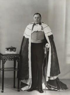Henry Astell Law, 7th Baron Ellenborough, by Bassano Ltd - NPG x84135