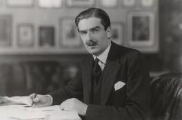 Anthony Eden, 1st Earl of Avon, by Bassano Ltd, 17 November 1931 - NPG x84149 - © National Portrait Gallery, London